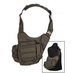 Sacoche  à bandoulière Sling Bag  Multifonction  Vert armée