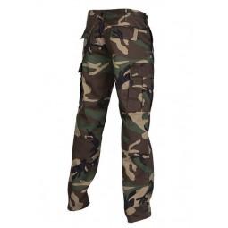 Pantalon BDU Straight Cut  Camo